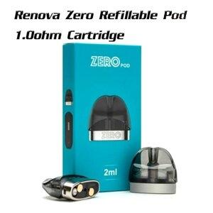 Renova Zero Refillable Pod 1.0ohm Cartridge