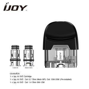 Replacement Pod Ijoy AI EVO พร้อม coil 2 ตัว
