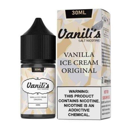 Vanili's Salt E-Liquid - Vanilla Ice Cream - 30ml Nic25