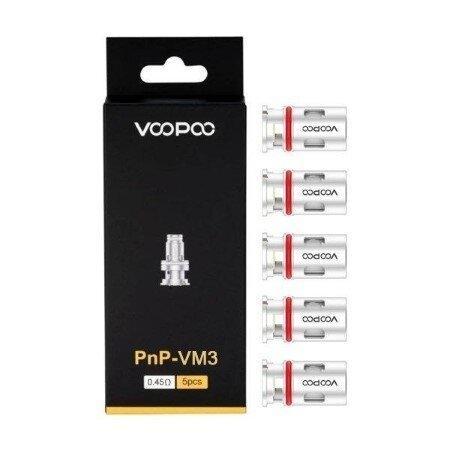 Coil Voopoo PnP-VM3 0.45ohm (1 กล่องมี 5 ชิ้น)