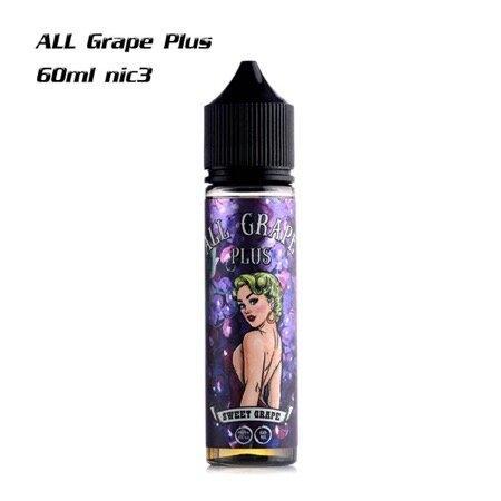 ALL Grape Plus 60ml nic3 | น้ำยาบุหรี่ไฟฟ้า