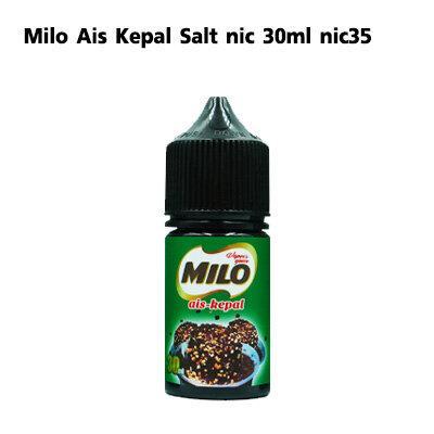 Milo Ais Kepal Salt nic 30ml nic35