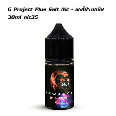 G Project Plus Salt Nic 30ml nic35