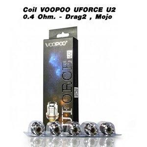 Coil VOOPOO UFORCE U2 0.4 Ohm.- Drag2 , Mojo (ชิ้น)