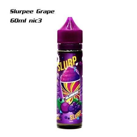 Slurpee Grape 60ml nic3 เย็น   น้ำยาบุหรี่ไฟฟ้า