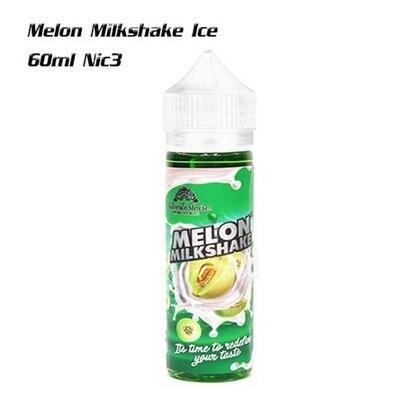Melon Milkshake 60ml นิค3 เย็น
