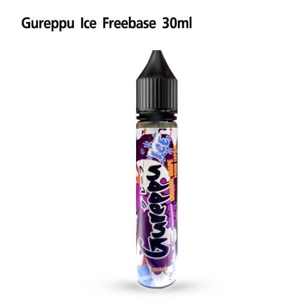 F Gureppu ice Freebase Nic3 30ml [เย็นมาก][น้ำยาฟรีเบส]
