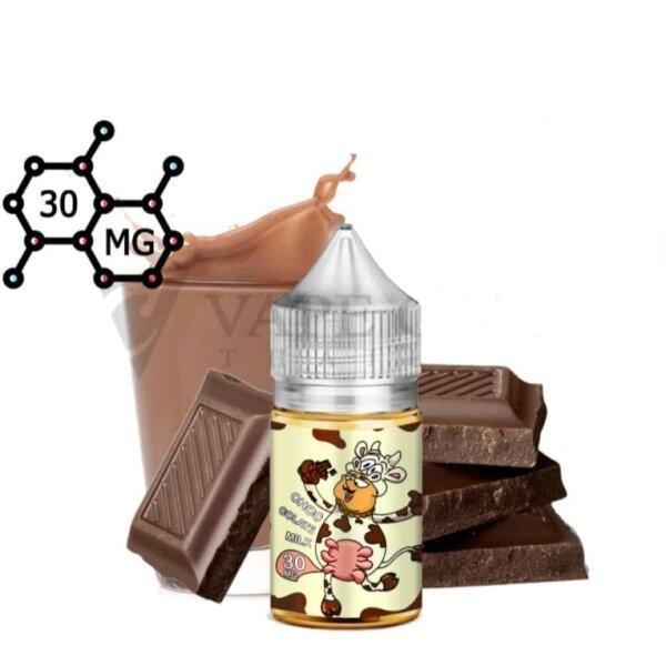 V [น้ำยา POD Salt Nic ] Uncle Milk Chocolate Salt Nic N30 [ไม่เย็น]
