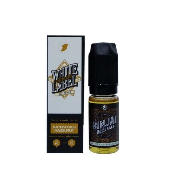 [น้ำยา POD Salt Nic] Binjai Butterscotch Hazelnut 10ml Nic35 [ไม่เย็น]