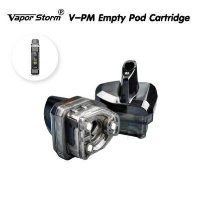 F [PODเปล่า] Vapor Storm V-PM Empty Pod Cartridge [1ชิ้น]
