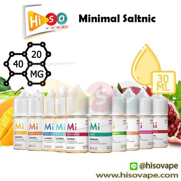 ** Minimal Saltnic 30ml [น้ำยา POD Salt Nic]