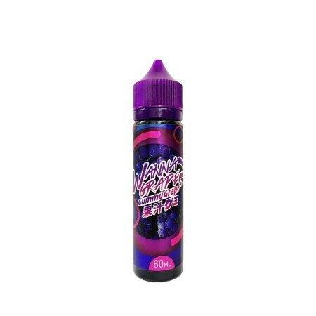 F น้ำยาบุหรี่ไฟฟ้ามาเลเซีย Wanna Gummy Grape Nic3 [เย็น]