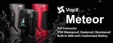 F [กล่องบุหรี่ไฟฟ้า] VapX Meteor 510 Box Mod [แท้]