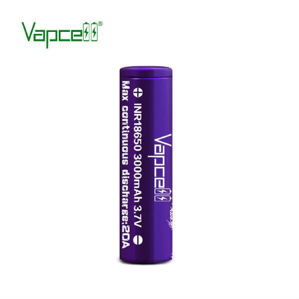 ถ่านชาร์จ Vapecell 18650 3000mAh 20A Purple