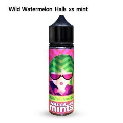 Halls Mint XS Wild Watermelon 60ml นิคต่ำ[น้ำยามาเลเซีย]
