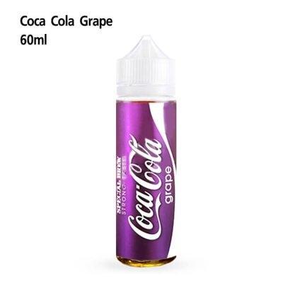 F น้ำยาบุหรี่ไฟฟ้าฟรีเบส Coca Cola Grape 60ml นิค3 เย็น