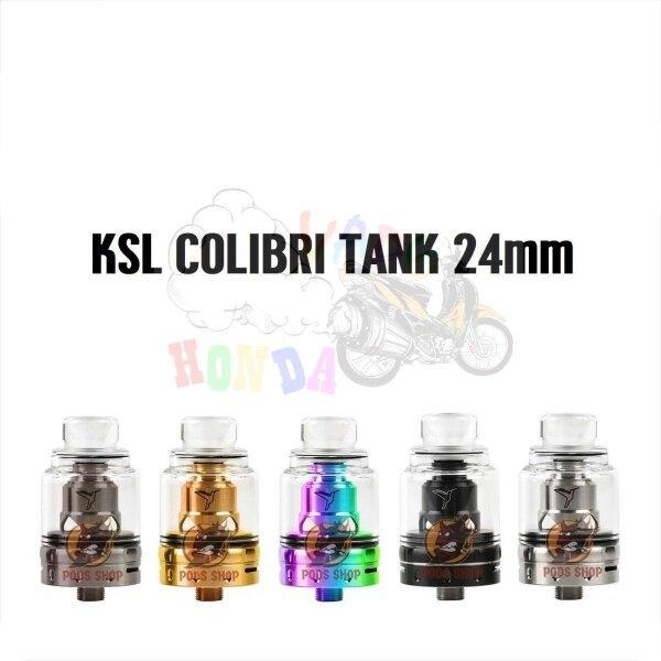 **KSL Vapor – Colibri 24 Tank (RTA) รุ่นนี้ใช้เปลี่ยนคอยล์สำเร็จ [แท้]