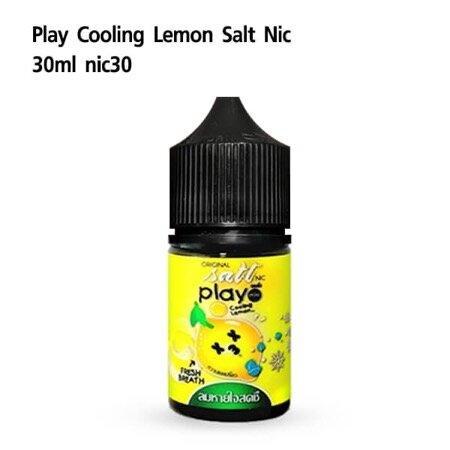 F Play More Cooling Lemon Salt Nic30 30ml [เย็น] [น้ำยา POD SALT NIC]