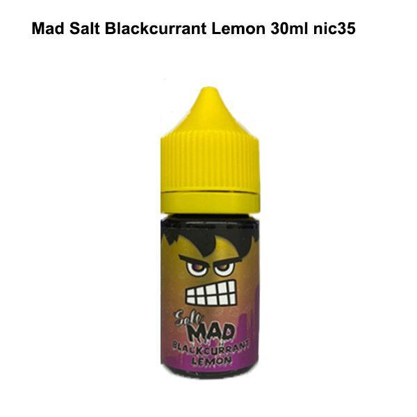 F Mad Salt Blackcurrant Lemon 30ml Nic35 [น้ำยา POD SALT NIC]