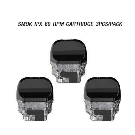 F [podเปล่า] SMOK IPX 80  RPM Cartridge 3ชิ้น/กล่อง