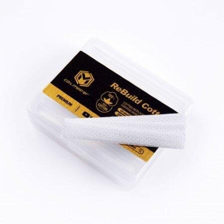 F Coil Master Rebuild Cotton (RBC) for POD - Premium(Silk Cotton) ทอง