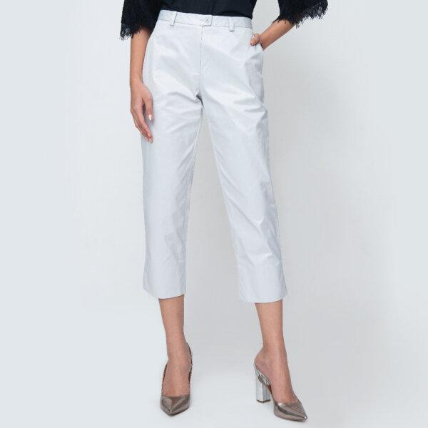 GSP จีเอสพี กางเกงชิโน่ ขา 5 ส่วน สีเทา PV1QGY