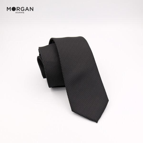 MORGAN HOMME เนคไท ทอลายในตัว ขนาดกว้าง 6 cm. รุ่น JET 01