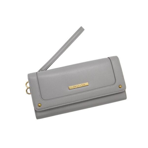 MORGAN กระเป๋าสตางค์ใบยาว ฝาพับ รุ่นCAMILA 01