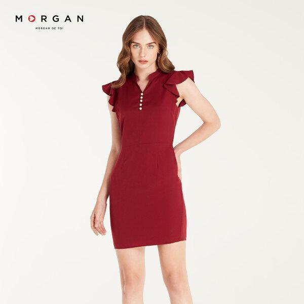 Morgan Boutique เดรสสีแดง รุ่น E20-P.PRIYA