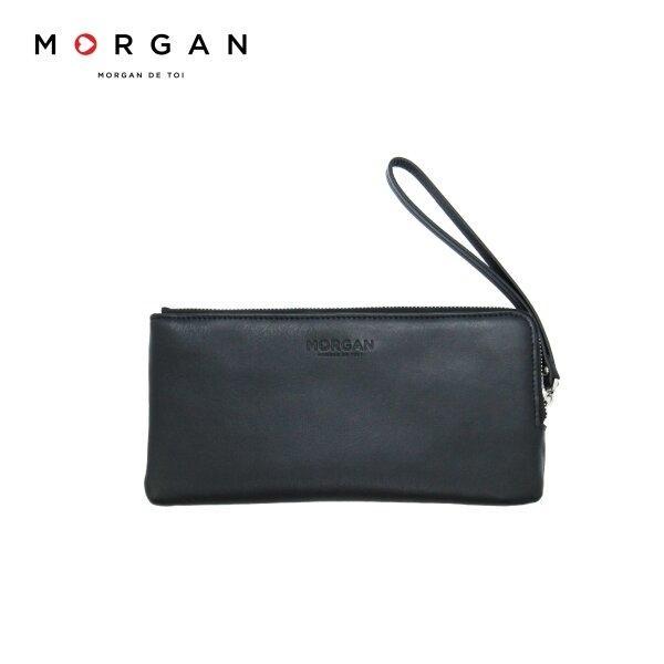MORGAN กระเป๋าสตางค์ใบยาว  ปิดด้วยซิป รุ่นMALMER XL ZIP