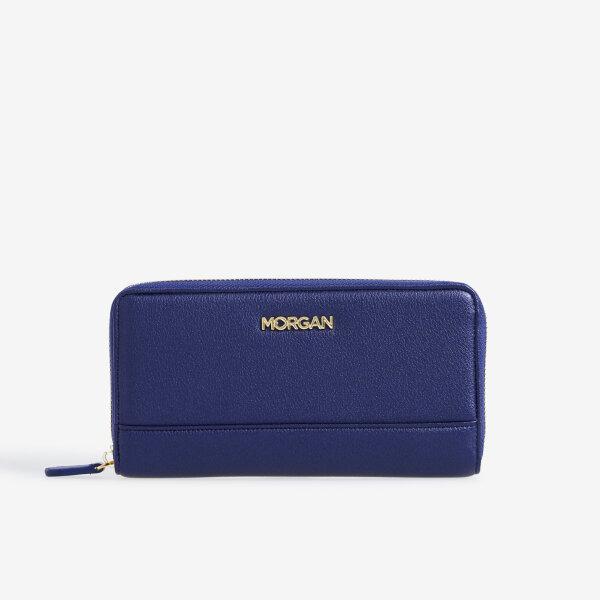 MORGAN กระเป๋าสตางค์ใบยาว ซิปรอบ รุ่นBUDDY 01