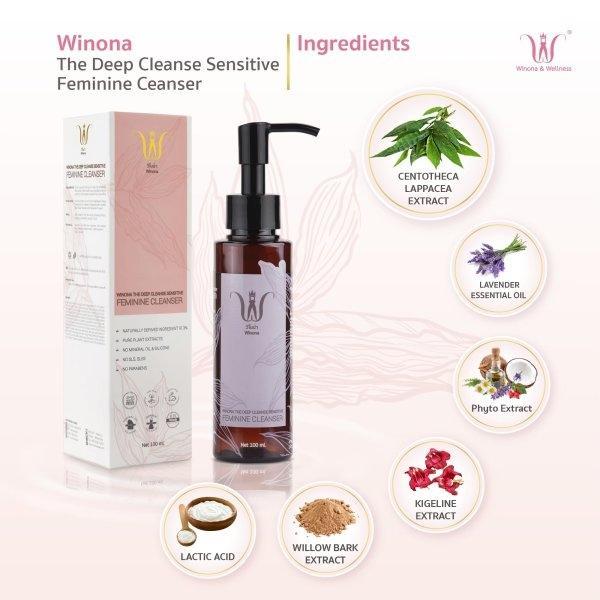 Feminine Cleansing Liquid+ Sensitive Spray 50 ml.