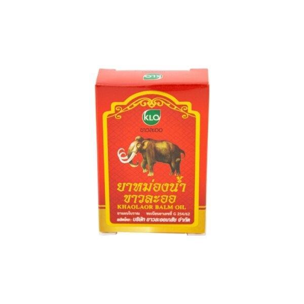 Khaolaor ขาวละออ ยาหม่องน้ำ (ยาสามัญประจำบ้าน) 3 มล./ขวด