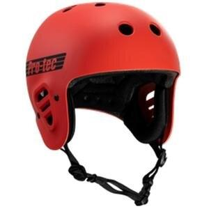 Pro-Tec Full Cut Certified Helmet (Matte Bright Red)