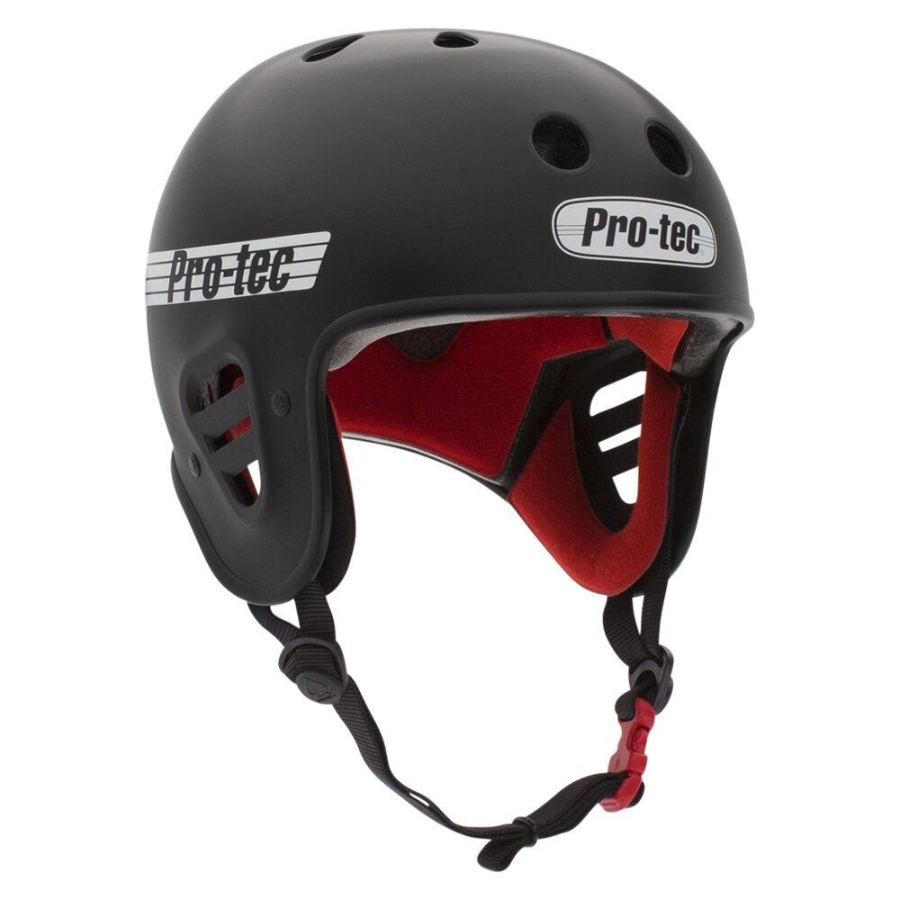 Pro-tec Full Cut Certified S&M Helmet (MATTE BLACK)