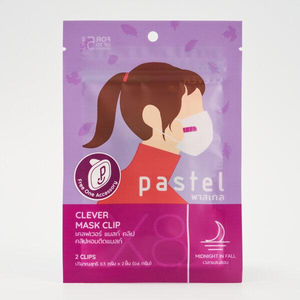 [NEW] PASTEL CLEVER MASK CLIP - MIDNIGHT IN FALL