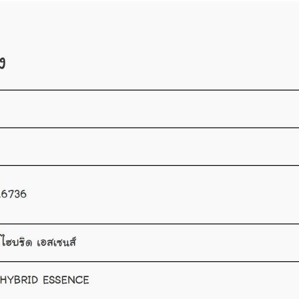 (ของแท้ 100%) แอคนอค ออล ไฮบริด เอสเซ้น ACNOC ALL HYBRID ESSENCE 30 ML.