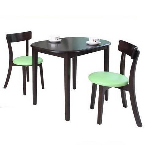 7Line: ชุดโต๊ะอาหารเลม่อน 2ที่นั่ง สีโอ๊ค