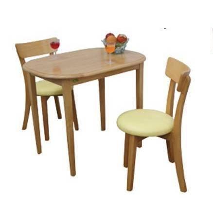 7Line: ชุดโต๊ะอาหารเลม่อน2ที่นั่ง  สีบีช