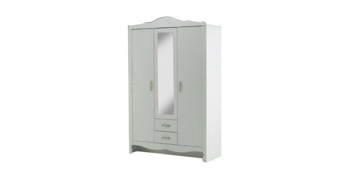 KC:Renesme:Wardobe 134 ตู้เสื้อผ้าเรเนสเม่ 134 ขาว