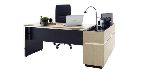 โต๊ะทำงาน Buford ขนาด 180 ซม.