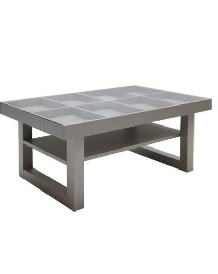 โต๊ะกลางเดคโค่ สีดาร์กโอ๊ค