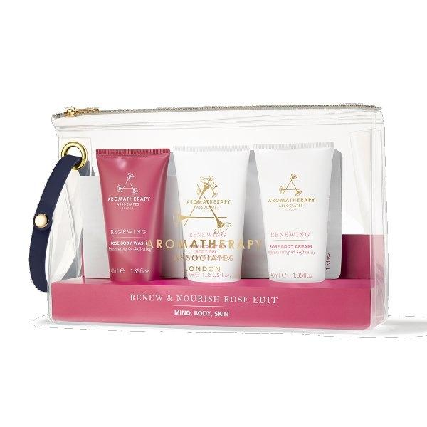 Renew & Nourish Rose Edit Set