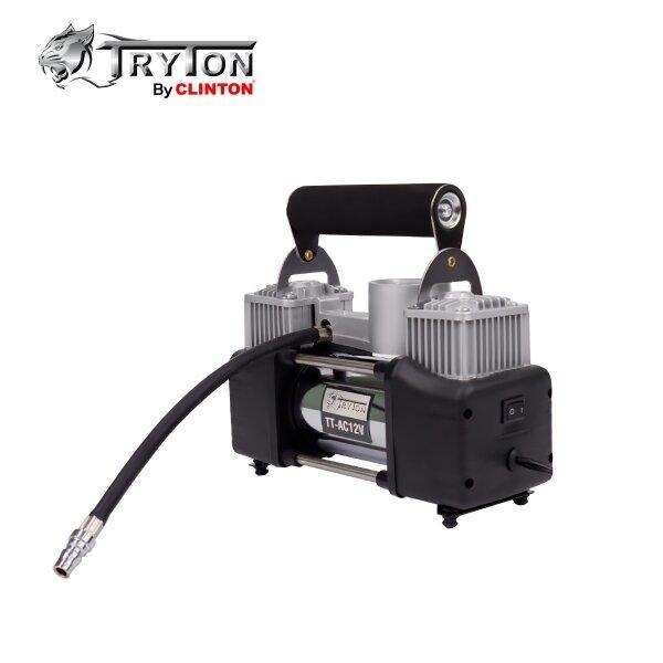 ปั๊มลมมินิ TRYTON แบบพกพา 12V (ปั๊มลมแบตเตอรี่) รุ่น TT-AC12V