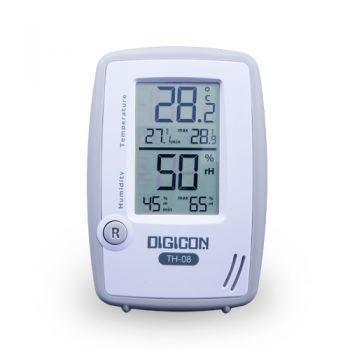 เทอร์โมไฮโกรมิเตอร์ Thermometer + Hygrometer TH-08