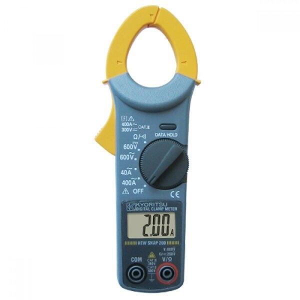 แคล้มป์มิเตอร์/ดิจิตอล KEW SNAP 200 (KT-200), 40/400A/AC