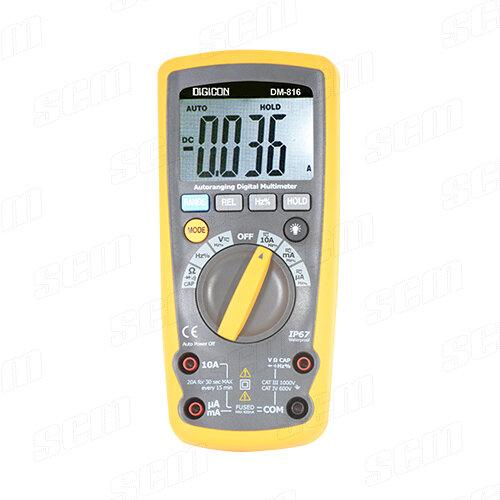 DIGICON DM-816 Digital Multimeter 1000V AC/DC 4000 counts