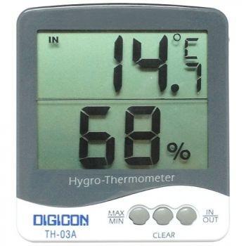 เทอร์โมไฮโกรมิเตอร์ Thermometer + Hygrometer TH-03A
