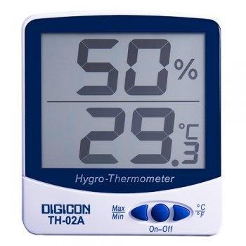 เทอร์โมไฮโกรมิเตอร์ DIGICON TH-02A