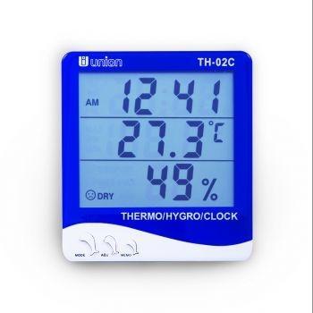 เทอร์โมไฮโกรมิเตอร์ Thermometer + Hygrometer TH-02C